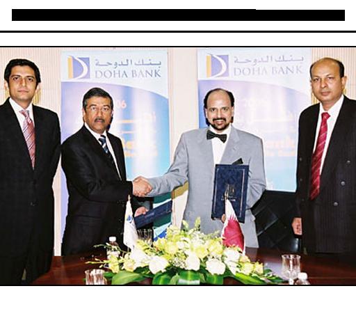Efu Life And Doha Bank Of Qatar Sign Bancassurance Agreement Efu